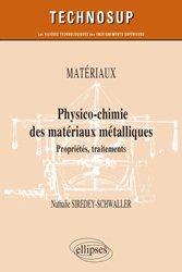 Dernières parutions dans Technosup, Physico-chimie des matériaux métalliques