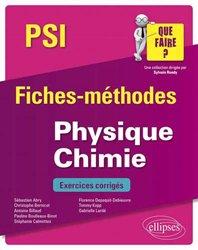 Dernières parutions sur Chimie physique, Physique-Chimie PSI