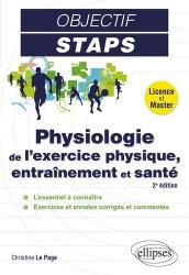 Dernières parutions sur Enseignement du sport, Physiologie de l'exercice physique, entraînement et santé