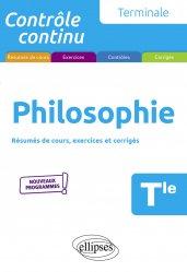 Dernières parutions dans Contrôle continu, Philosophie Tle. Edition 2020
