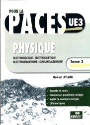 Dernières parutions sur UE3 Physique - Biophysique, Physique Tome 3 Electricité
