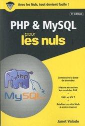 Dernières parutions dans Poche pour les Nuls, PHP et MYSQL poche pour les nuls