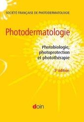 Dernières parutions sur Dermatologie, Photodermatologie