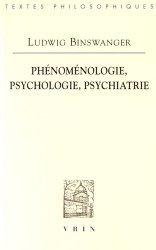 Souvent acheté avec De l'asile à l'hopital : 50 ans de  psychiatrie, le Phénoménologie, psychologie, psychiatrie