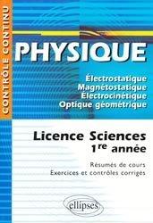 Souvent acheté avec Physique 1ère année MPSI, PTSI, le Physique 1ère année Licence Sciences
