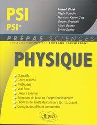Souvent acheté avec Maths PSI PSI*, le Physique PSI, PSI*