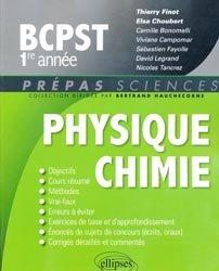 Souvent acheté avec Mathématiques BCPST 1e année, le Physique-Chimie BCPST 1re année