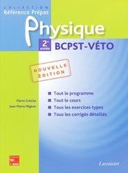 Souvent acheté avec Biologie BCPST-VÉTO 2ème année, le Physique 2ème année BCPST - VÉTO