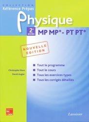 Souvent acheté avec Maths PSI PSI*, le Physique 2ème année MP MP* PT PT*