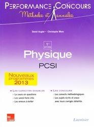 Souvent acheté avec Mathématiques PCSI - PTSI, le Physique 1ère année PCSI