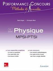 Nouvelle édition Physique MPSI - PTSI 1ère année