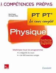 Dernières parutions dans Compétences prépas, Physique  PT PT*