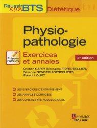 Souvent acheté avec Microbiologie, hygiène et droit alimentaire, le Physiopathologie -  Exercices et annales