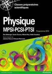 Souvent acheté avec Mathématiques pour les sciences de l'ingénieur, le Physique MPSI-PCSI-PTSI