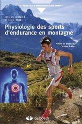Dernières parutions dans Sciences et Pratiques du Sport, Physiologie des sports d'endurance en montagne