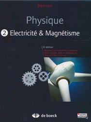 Dernières parutions sur Dictionnaires et cours fondamentaux, Physique II - Electricité et magnétisme