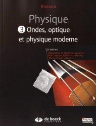 Dernières parutions sur Dictionnaires et cours fondamentaux, Physique III - Ondes optiques