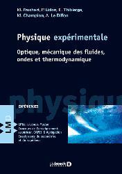 Dernières parutions sur Thermodynamique, Physique expérimentale