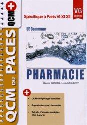Dernières parutions sur QCM POUR L'UE8, Pharmacie UE Commune