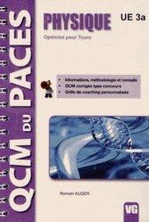 Dernières parutions dans QCM du PACES, Physique Optimisé pour Tours