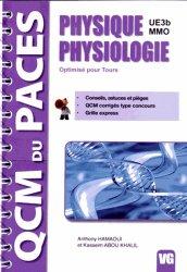 Dernières parutions dans QCM du PACES, Physique Physiologie UE 3b MMO livre paces 2020, livre pcem 2020, anatomie paces, réussir la paces, prépa médecine, prépa paces
