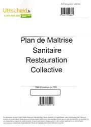 Dernières parutions sur Hygiène et sécurité alimentaire, Plan de Maîtrise Sanitaire (PMS) Restauration collective