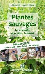 Dernières parutions sur Cueillette - Cuisine sauvage, Plantes sauvages