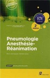 Souvent acheté avec Neurologie - Gériatrie, le Pneumologie Anesthésie- Réanimation