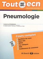 Dernières parutions dans Tout en un ECN, Pneumologie