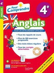 Dernières parutions sur 4e, POUR COMPRENDRE ANGLAIS 4E