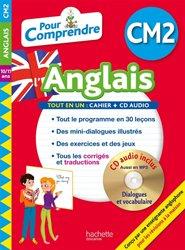 Dernières parutions sur CE2, Pour comprendre l'anglais CM2