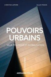 Dernières parutions sur Politiques de la ville, Pouvoirs urbains