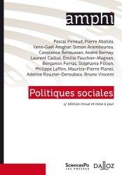 Dernières parutions dans Amphi, Politiques sociales