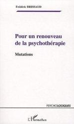 Dernières parutions dans Psychologiques, Pour un renouveau de la psychothérapie