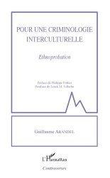Dernières parutions sur Criminologie , droit pénitentiaire, Pour une criminologie interculturelle. Ethnoprobation