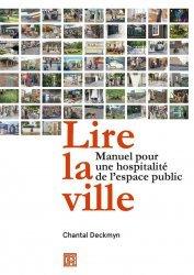 Dernières parutions sur Urbanisme, Pour une hospitalité de l'espace public