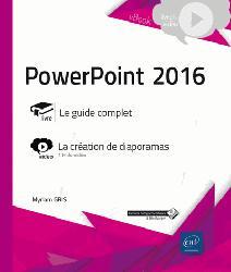 Dernières parutions dans VBOOK, Powerpoint 2016