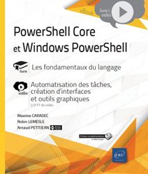 Dernières parutions dans vBook, PowerShell Core et Windows PowerShell