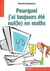 Dernières parutions dans Regards, Pourquoi j'ai toujours été nul(le) en maths