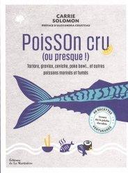 Dernières parutions sur Cuisine et vins, Poisson cru (ou presque !)