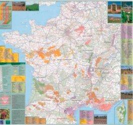 Dernières parutions sur Cartes thématiques, Poster Vins de France. 1/1 020 000