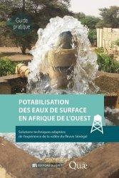 Dernières parutions sur Ecologie - Environnement, Potabilisation des eaux de surface en Afrique de l'Ouest