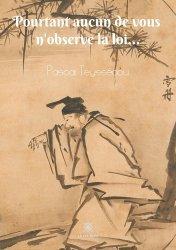 Dernières parutions sur Autres ouvrages de philosophie du droit, Pourtant aucun de vous n'observe la loi...