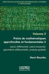Dernières parutions sur Analyse, Précis de mathématiques approfondies et fondamentales 3