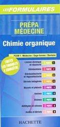 Souvent acheté avec Fiches de révisions en chimie générale, le Prépa médecine - Chimie organique
