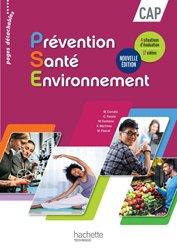 Dernières parutions sur CAP et Bac PSE, Prévention Santé Environnement CAP - Livre élève