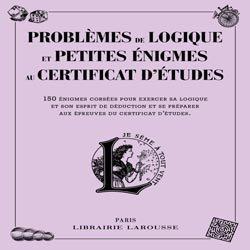 Souvent acheté avec Les financements alternatifs dans le vin Tome 2, le Problèmes de logique et petites énigmes liés au certificat d'études
