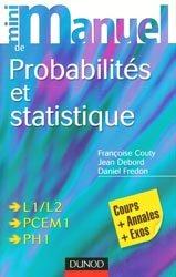 Souvent acheté avec Formulaire PCEM 1, le Probabilités et statistique  L1/L2 - PCEM1 - PH1