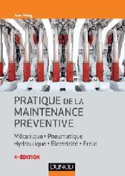 Dernières parutions sur Conception et maintenance des systèmes, Pratique de la maintenance préventive
