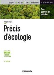Dernières parutions dans Sciences sup, Précis d'écologie